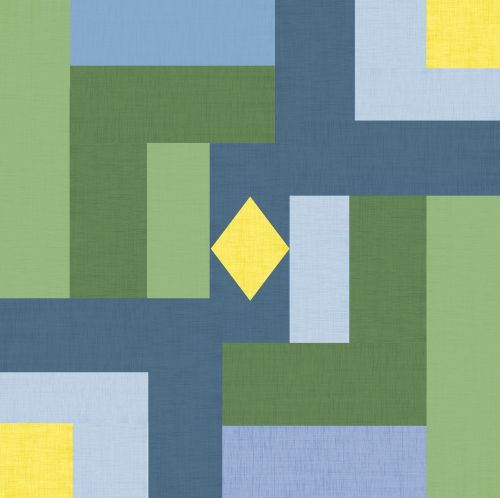 fabric material geometric