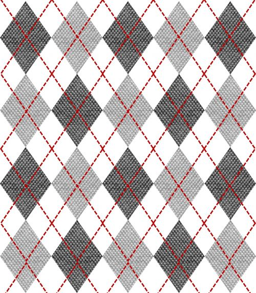 fabric texture argyle