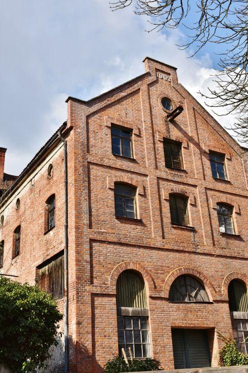 facade brick hauswand