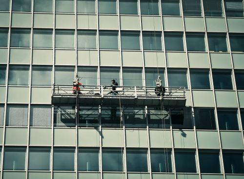 facade window window cleaner