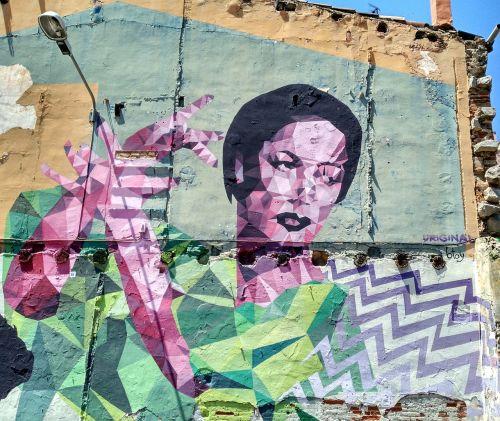 wall street art painted