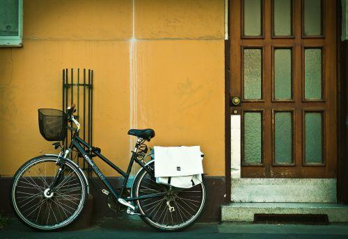 facade bike front door