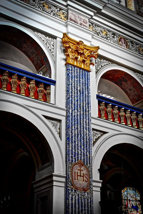facade ornate decoration