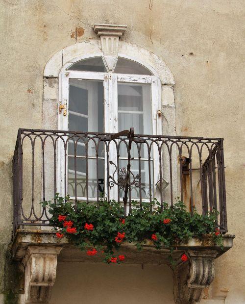 facade balcony romantic