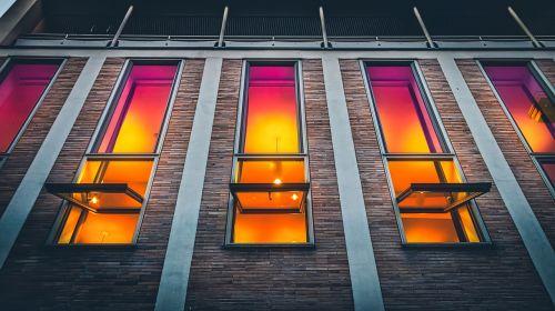 facade house windows