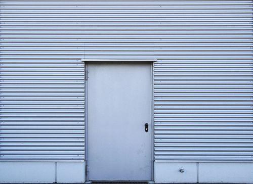 facade profile sheet door