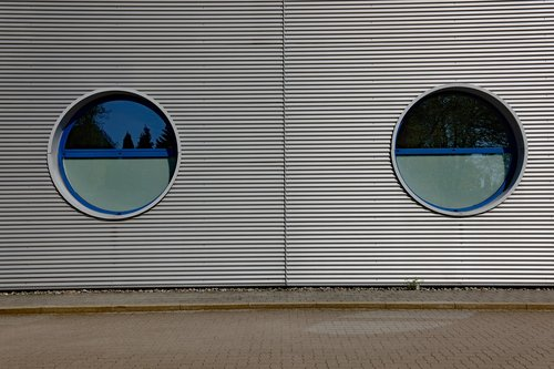 facade  window  porthole