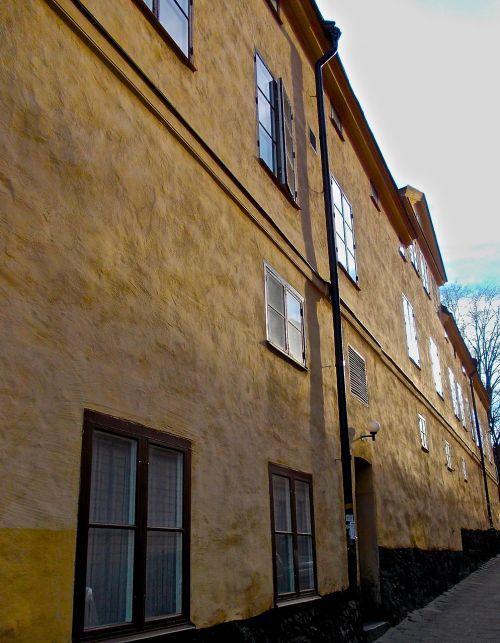 facade södermalm stockholm