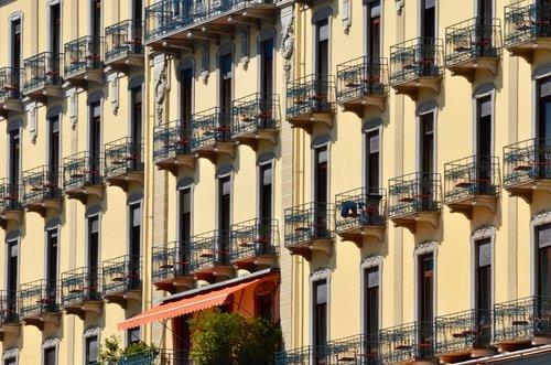 facade  grand hotel  architecture