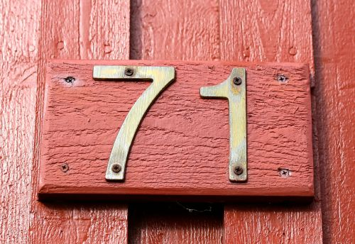 facade number house numbers