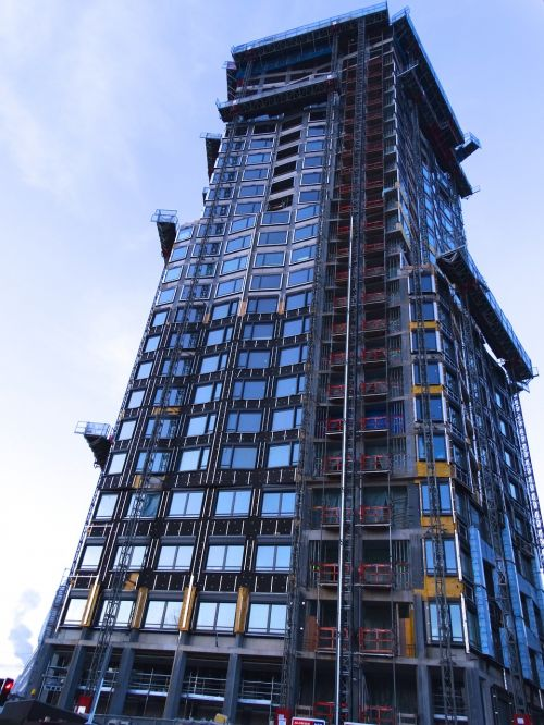 facade skyscraper shell