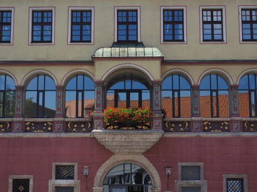 facade home balcony