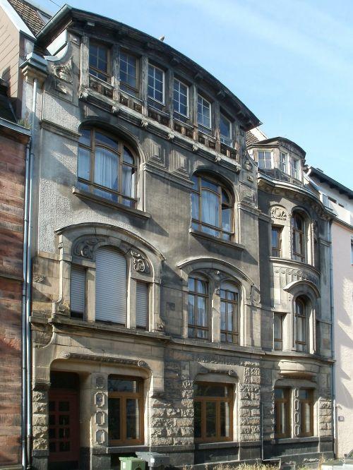 facade house saarbrucken