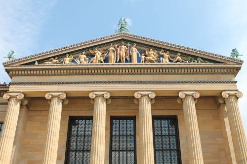 facade greek philadelphia museum of art