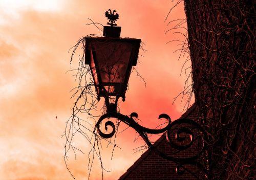 facade lantern wall lamp vintage lantern