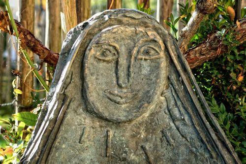 face art sculpture
