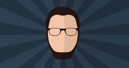 face icon glasses