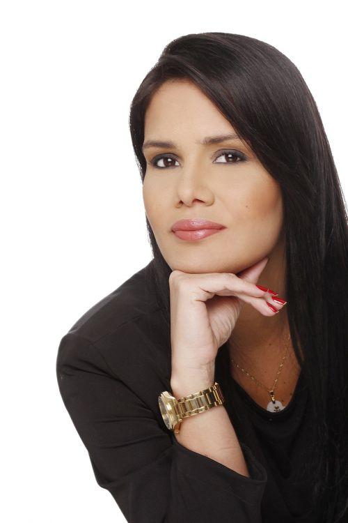 face woman brunette