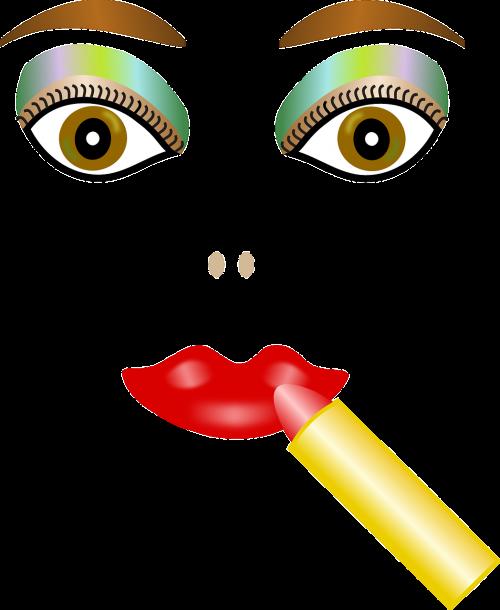 face lipstick cosmetics