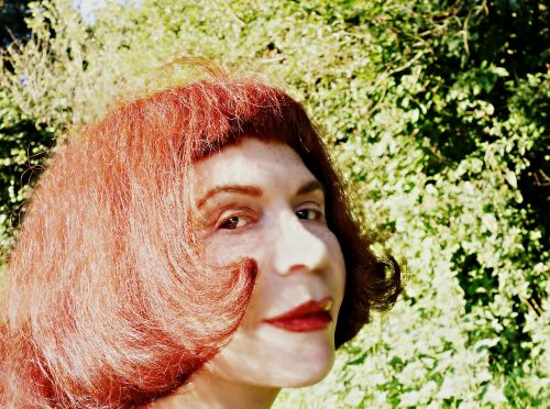 face portrait woman face