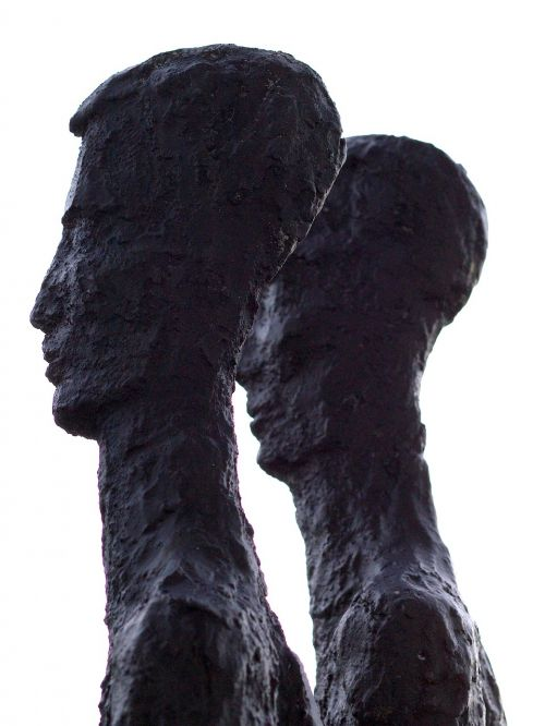 veidas,galva,kontūras,statula