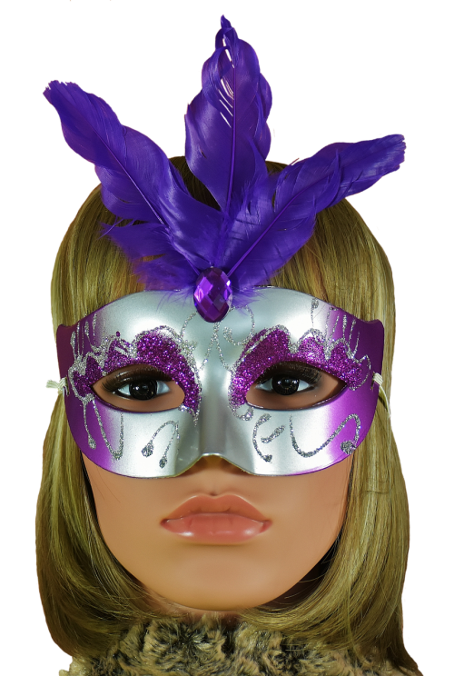 face carnival mask