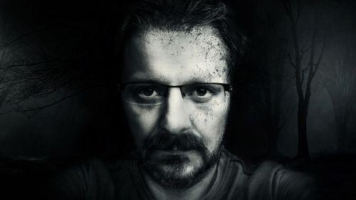 face man portrait
