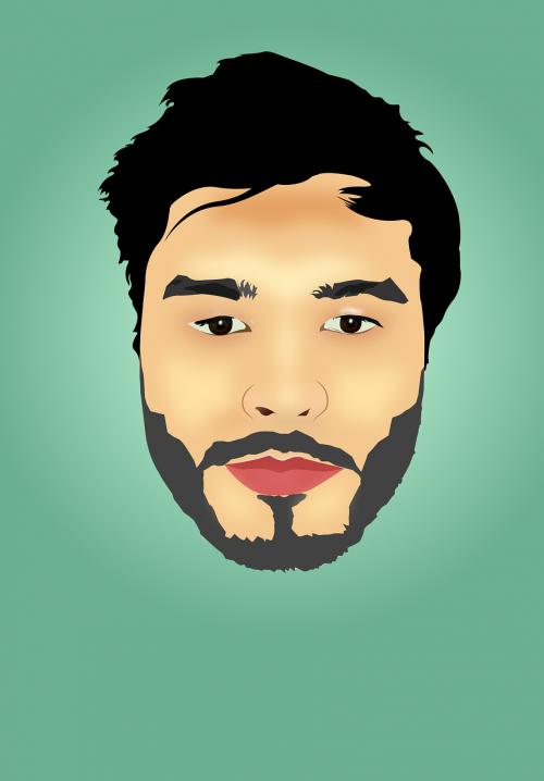 face cartoon design