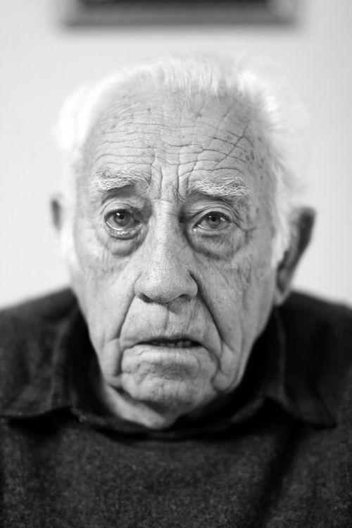 face portrait elder