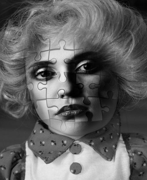 face woman puzzle