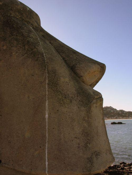 sculpture face wellington