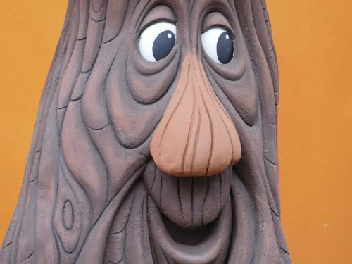 face carving caricature