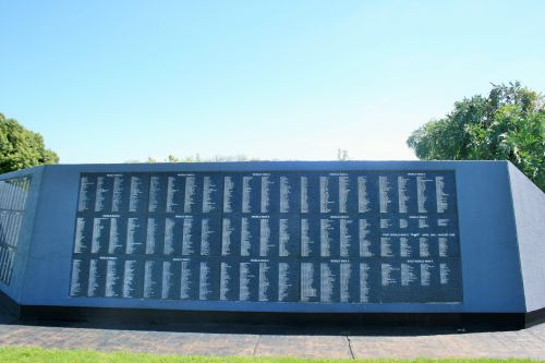 Face Of Wall Of Remembrance