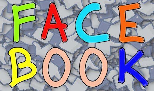 facebook letters sign
