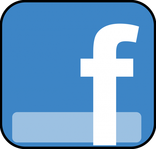 facebook icon vector images