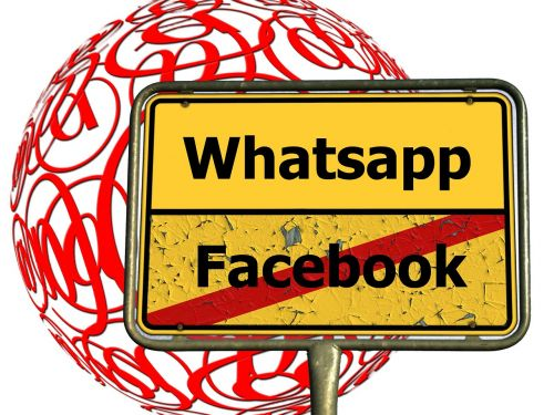 facebook whatsapp email