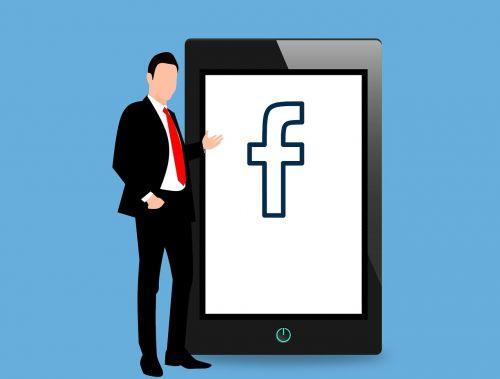 facebook mouse pointer logo