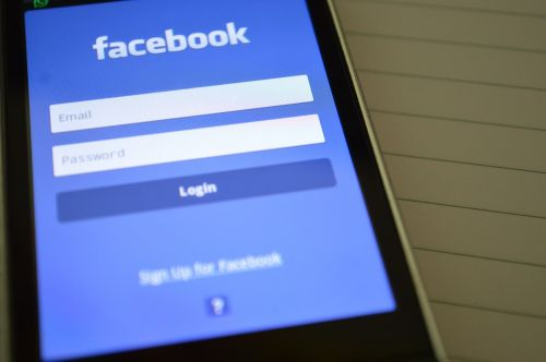 facebook login phone