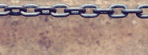 chain metal iron