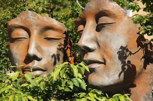 faces garden face