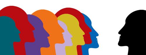 faces  group  profile