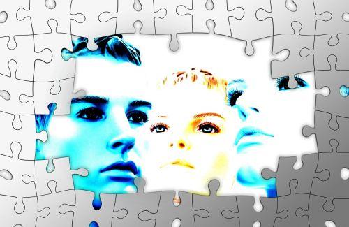 faces puzzle hidden