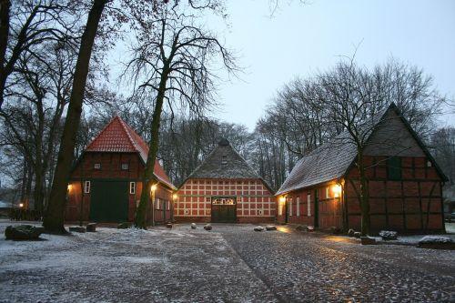 fachwerkhaus snow heimathaus