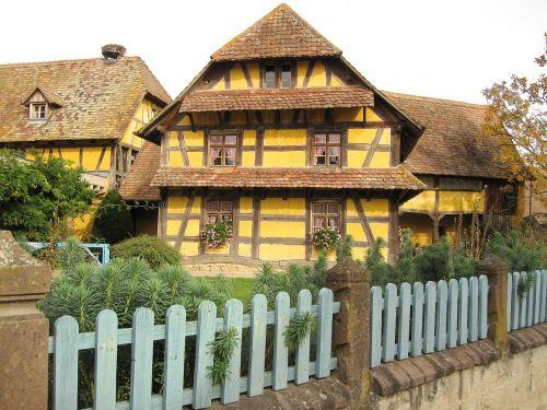 fachwerkhaus farmhouse country house
