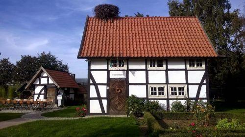 fachwerkhaus historically storchennest