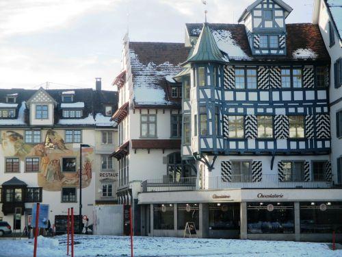 fachwerkhaus truss old town