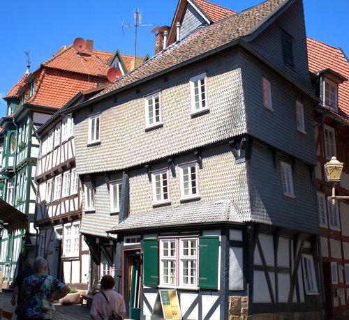 fachwerkhaus  house  truss