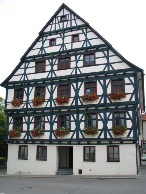 fachwerkhaus historically truss
