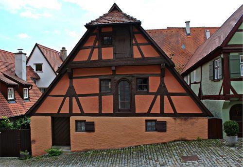 fachwerkhaus old town house historically