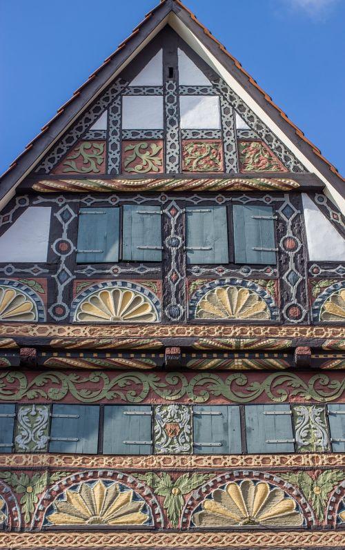 fachwerkhaus facade truss